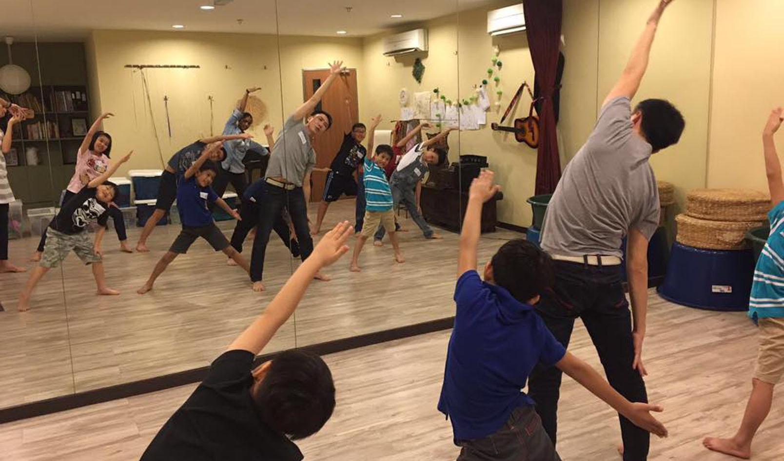 Johor Bahru Kid's Drama Workshop by Hossan Leong